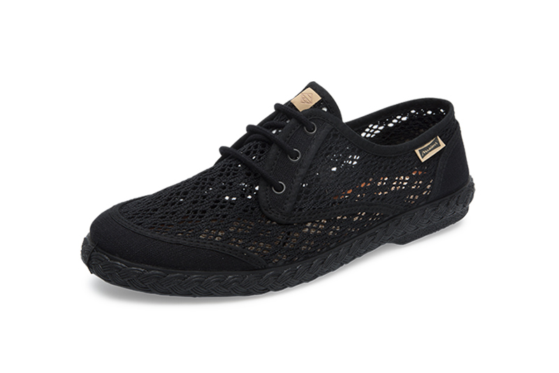 "Sneakers ""Pepa Rejilla"" Black"