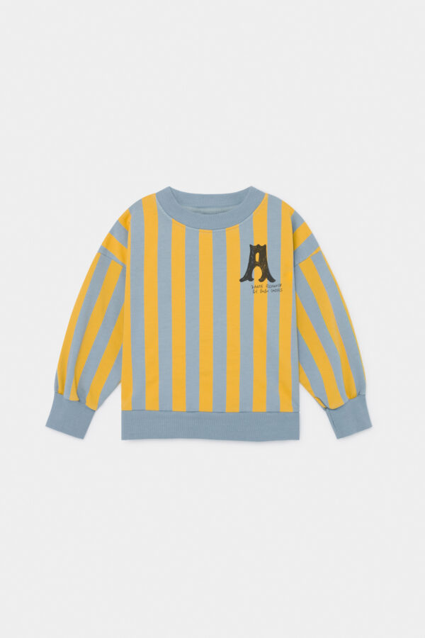 A Dance Romance Striped Sweatshirt
