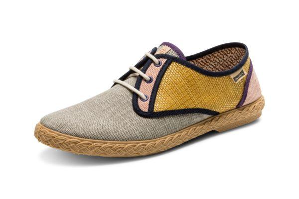 "Sneakers ""Pepa Combi"" Mustard"