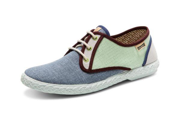 "Sneakers ""Pepa Combi"" Acqua"