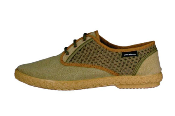 "Sneakers ""Sisto Combi"" Khaki Beige"