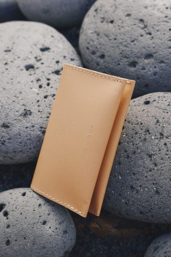 Bill Fold Wallet Camel