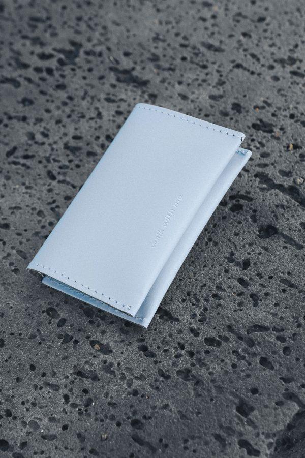 Bill Fold Wallet Azul Claro