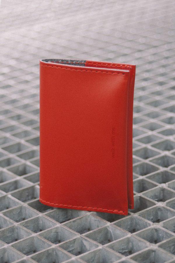 Bill Fold Wallet Rojo