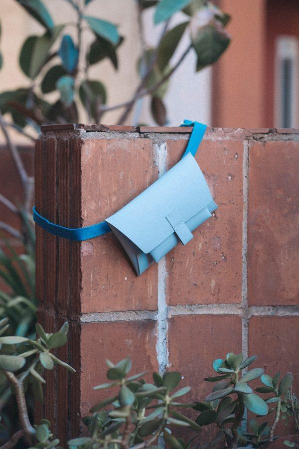 Kangaroo Belt Bag  Azul Claro