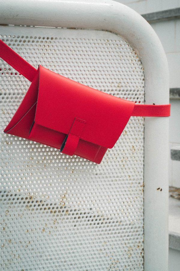Kangaroo Belt Bag Rojo