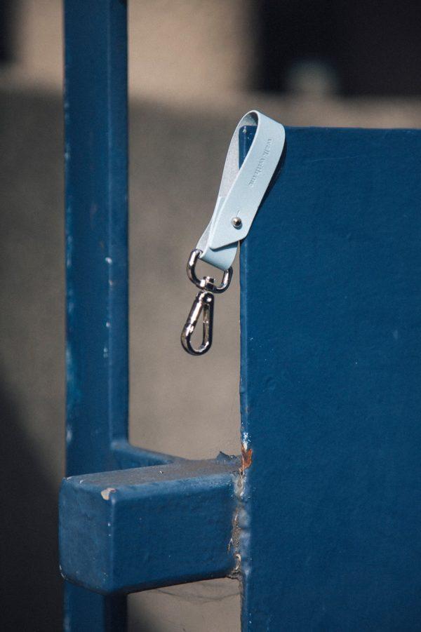 Key Fob Azul Claro