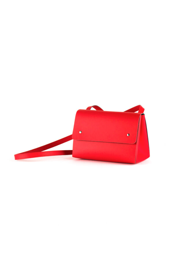 Bolso Triangle Bucket II Rojo
