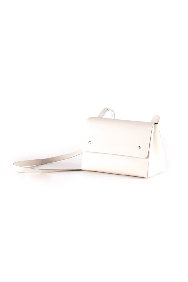 Bolso Triangle Bucket II Blanco