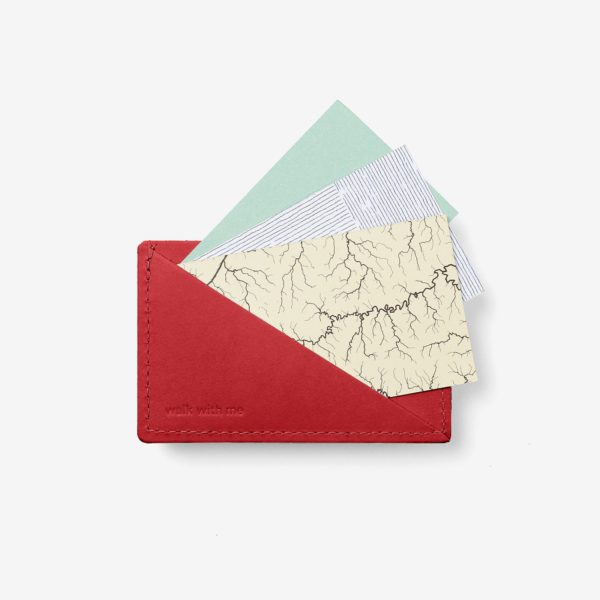 Cartera Triangle Wallet Rojo
