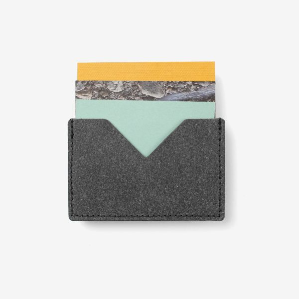 Cartera Triangle Wallet Gris