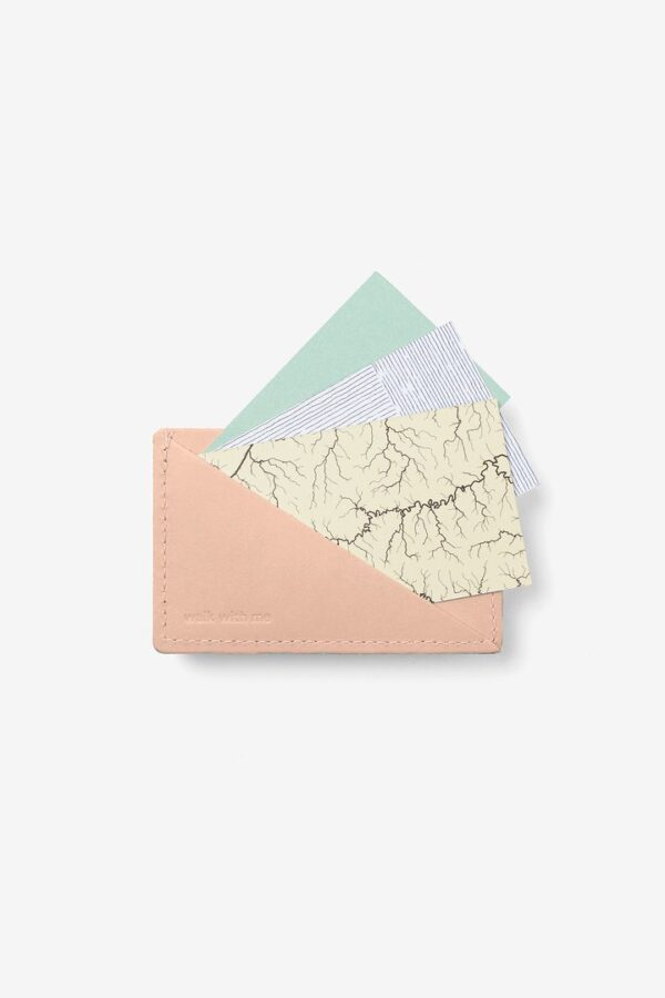 Cartera Triangle Wallet Camel