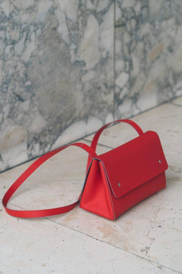 Triangle Bucket II Rojo