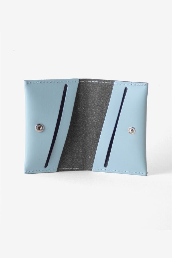 Cartera Bill Fold Wallet Azul Claro