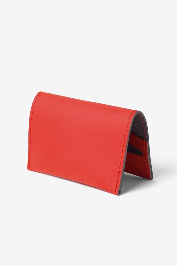 Cartera Bill Fold Wallet Rojo