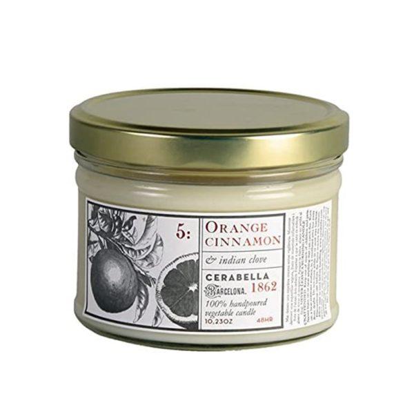 Candle Jar – Orange & Cinnamon