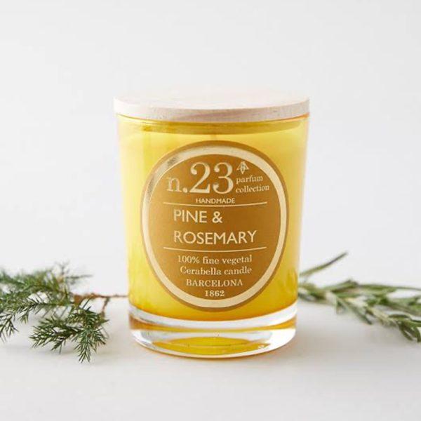 Vela Perfumada Pine & Rosemary