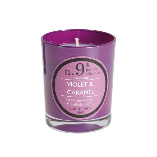 Vela Perfumada Violet & Caramel