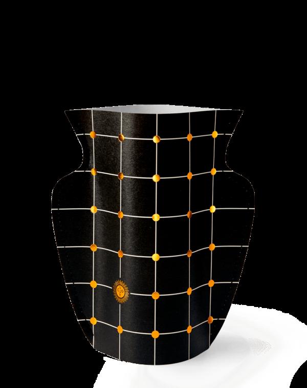 Mini-jarrón LIDO BLACK